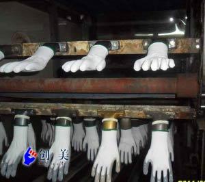 pu手套浸胶机生产线设备